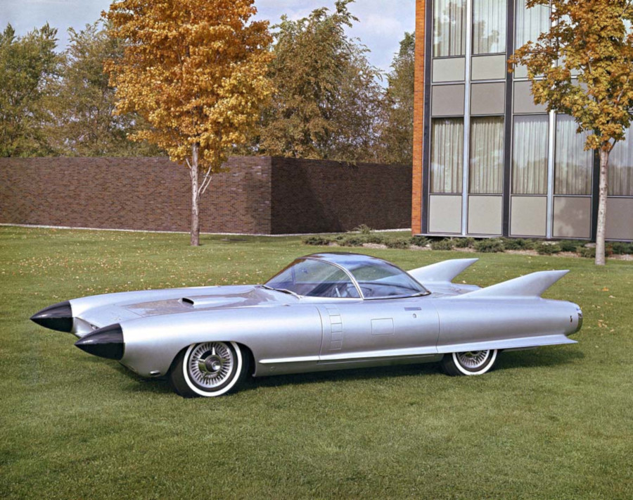 1959 Cadillac Cyclone XP 74 concept (GM Archives)