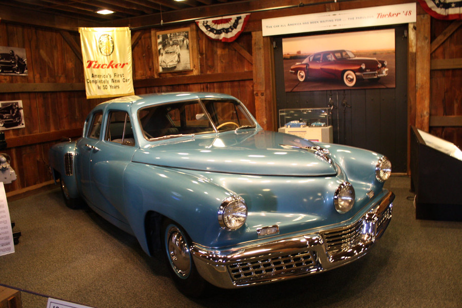 1948 Tucker display Gilmore Car Museum RESIZED 8