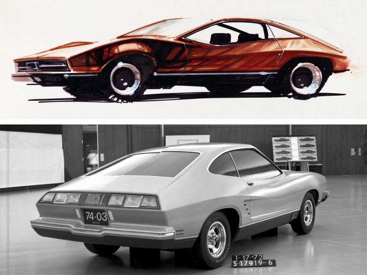 1974 Ford Mustang II from sketch to production Ford Motor Company Archives 1