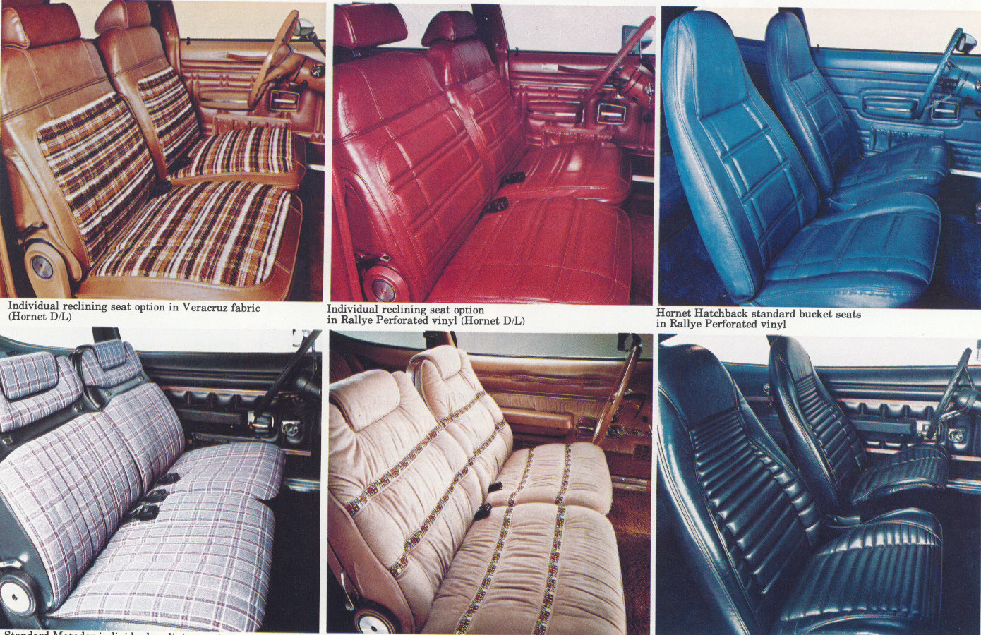 1977 AMC interior options Tate Collection 5