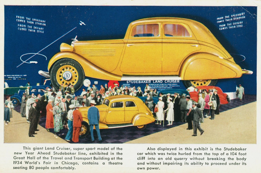 1934 Studebaker Land Cruiser Worlds Fair ad image 4 RESIZED Tate Collection