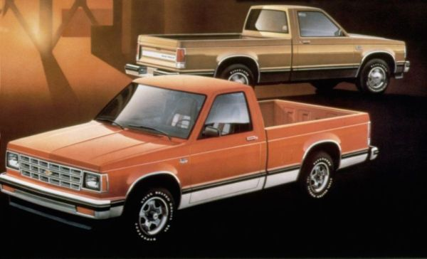 An ad for the 1982 Chevrolet S 10 truck Tate Collection 4