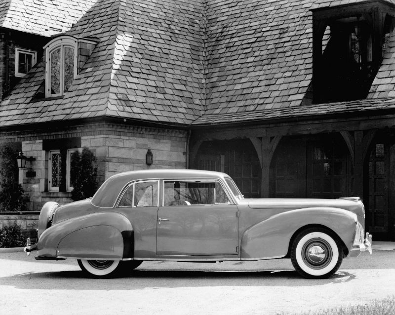 1940 Lincoln Continental coupe Ford Motor Company Archives 2
