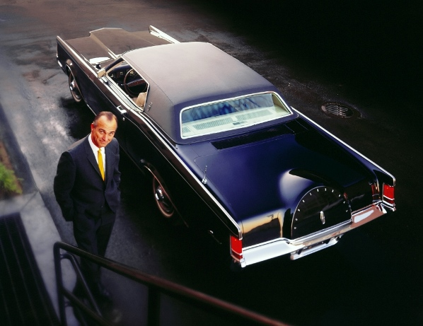 Advertising image for the 1968 69 Lincoln Mark III Robert Tate Collection 8