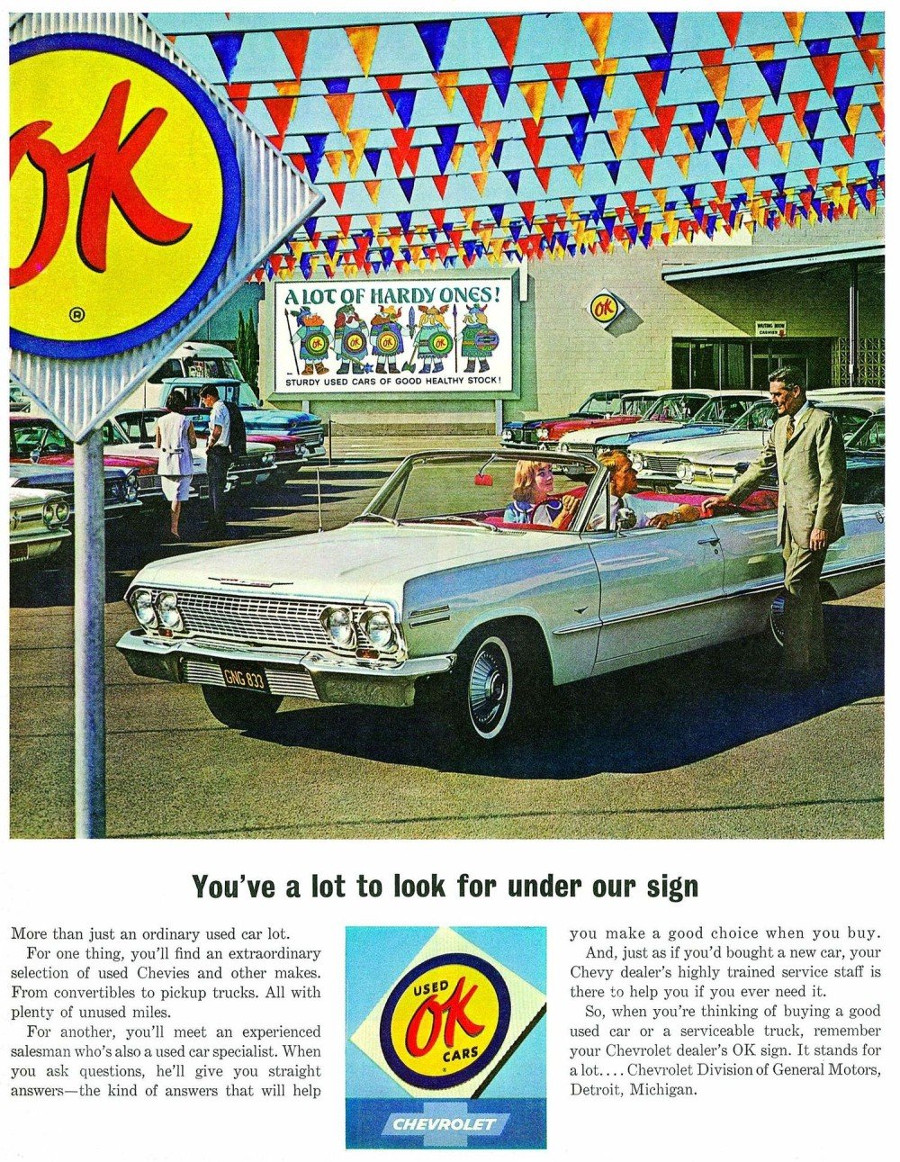 OK Used Cars magazine ad RESIZED Tate Collection