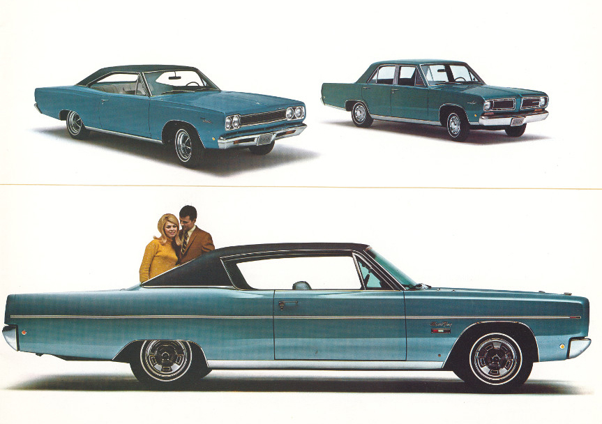 1968 Plymouth Sport Satellite and Plymouth Signet and Plymouth Fury 4 Tate Collection RESIZED