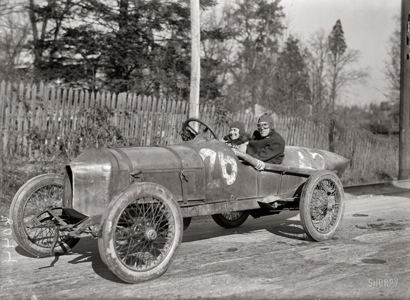 Eleanor Blevins driving with D. Braily Gish 2