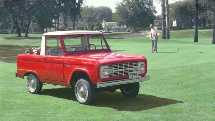 1966 Ford Bronco exterior Ford Motor Company Archives 5