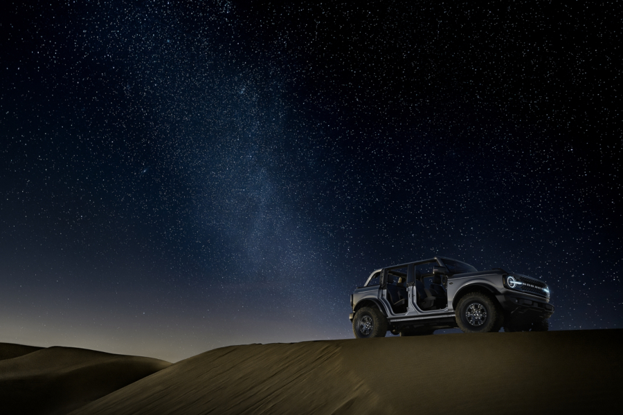 2021 Ford Bronco under the stars Ford Motor Company RESIZED 8