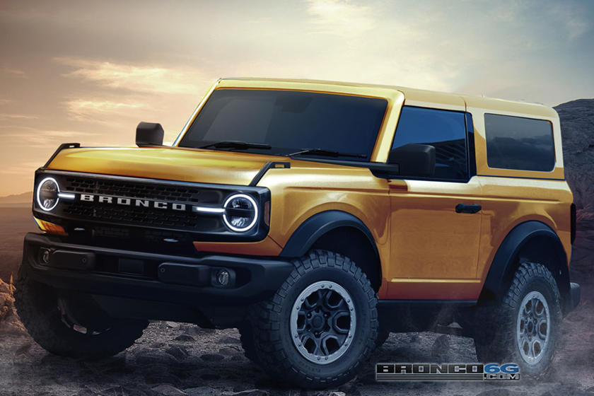The 2021 Ford Bronco Ford Motor Company 7