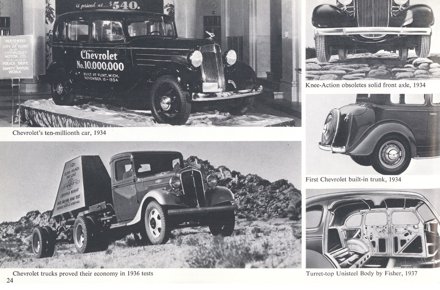 Chevrolet cars of the 1930s from brochure 7 Tate Collection RESIZED