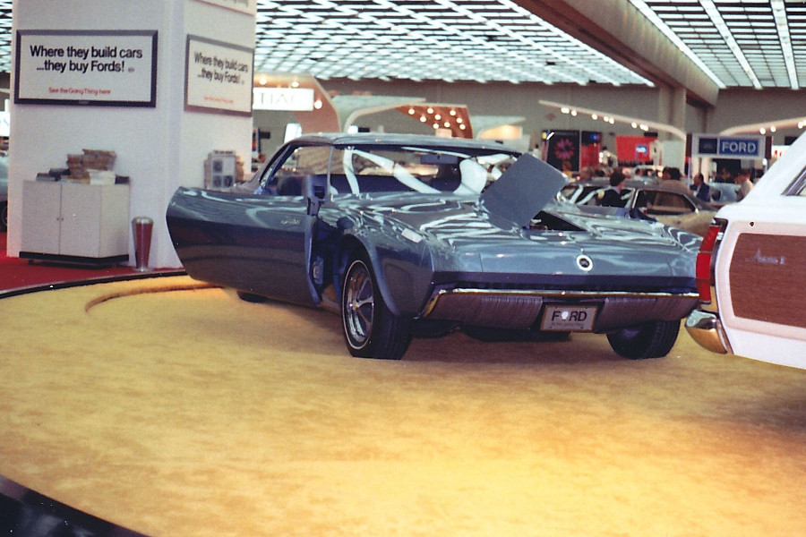 1968 Ford Techna at Cobo Hall Detroit Auto Show Robert Tate Collection RESIZED