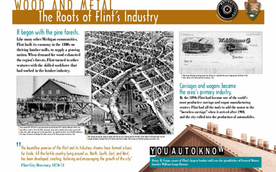 Wood and Metal - The Roots of Flint's Industry