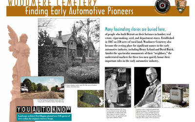 Woodmere Cemetery and the Automotive Pioneers