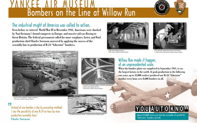Yankee Air Museum - Bombers on the Line at Willow Run