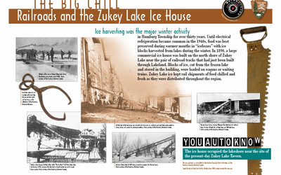 Railroads and the Zukey Lake Ice House