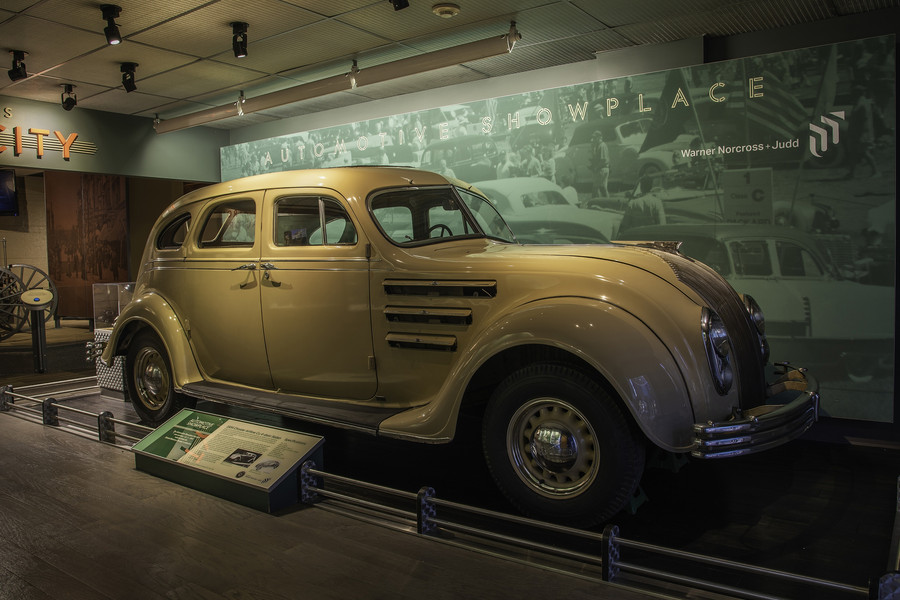 Automotive Showplace: 1934 Chrysler Airflow Sedan