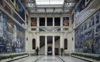 "The Detroit Institute of Arts has a well documented relationship with Detroit's automotive past. Edesel Ford, sole heir to the Ford Motor Co. empire, and his wife Eleanor saved this museum from closing its doors during the Great Depression and helped establish a fine art legacy for generations to enjoy. It is also home to Diego Rivera's famed ""Detroit Industry"" fresco murals."