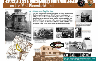 Remembering Historic Railways on the West Bloomfield Trail