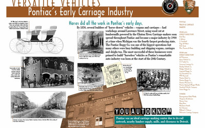 Pontiac's Early Carriage Industry