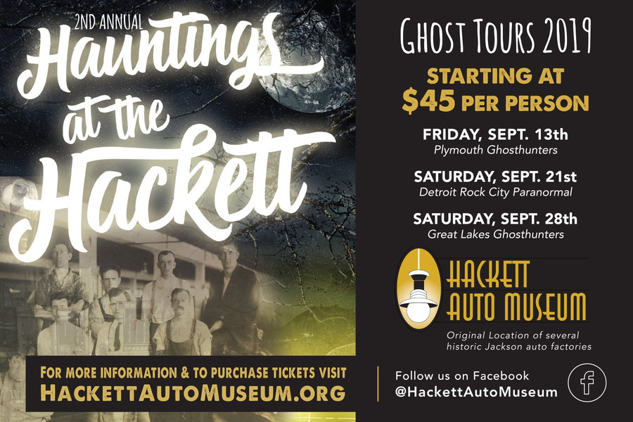 Hauntings at the Hackett: Ghost Tours 2019