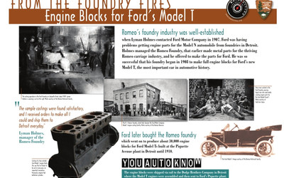 From the Foundry Fires - Engine Blocks for Ford's Model T