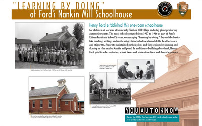 Learning By Doing At Ford's Nankin Mill Schoolhouse