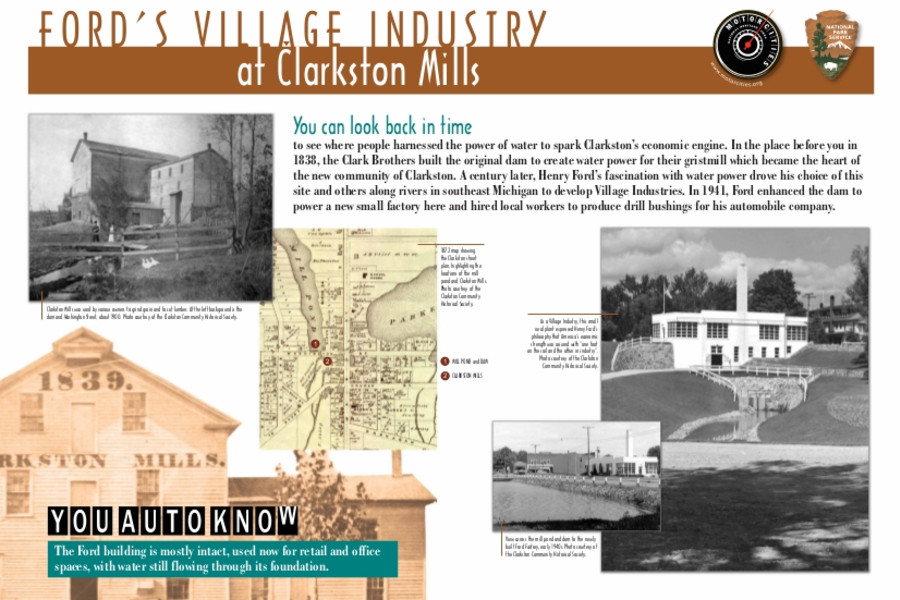 Ford's Village Industry at Clarkston Mill