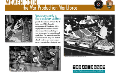 Women Join the War Production Workforce