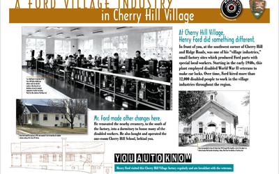 A Ford Village Industry in Cherry Hill Village