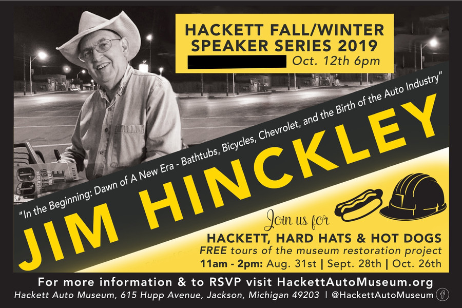 Speaker Series: An Evening with Jim Hinckley